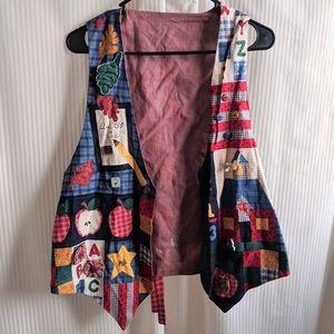 Jackets & Blazers - Vintage Kinder garden Teacher's Vest